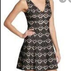 NWT Kensie lace fit and flare dress
